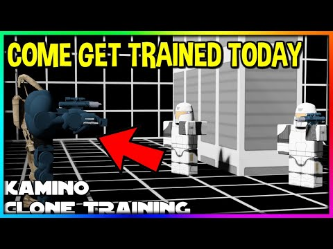 ROBLOX KAMINO TRAINING DAY! COME GET TRAINED