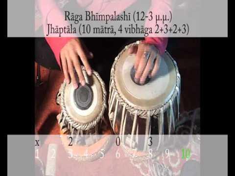 Jhaptal tabla demo