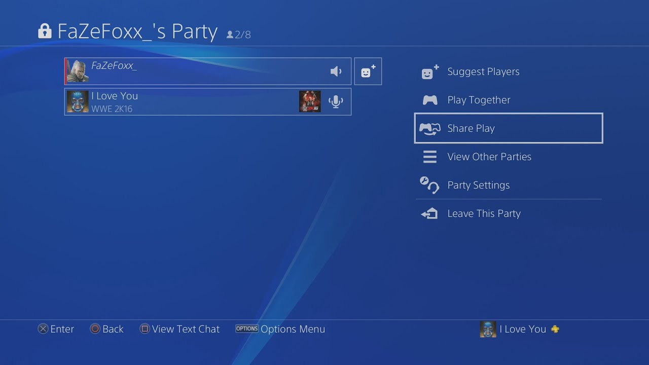 How to Use Share Play on PS4