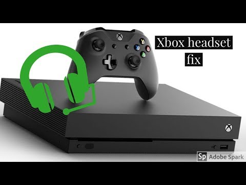 Xbox How to fix headset volume 100% works