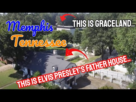 Elvis' Father's Home beside Graceland Vernon Presley Dolan Drive A Closer Look.. Did You Know?