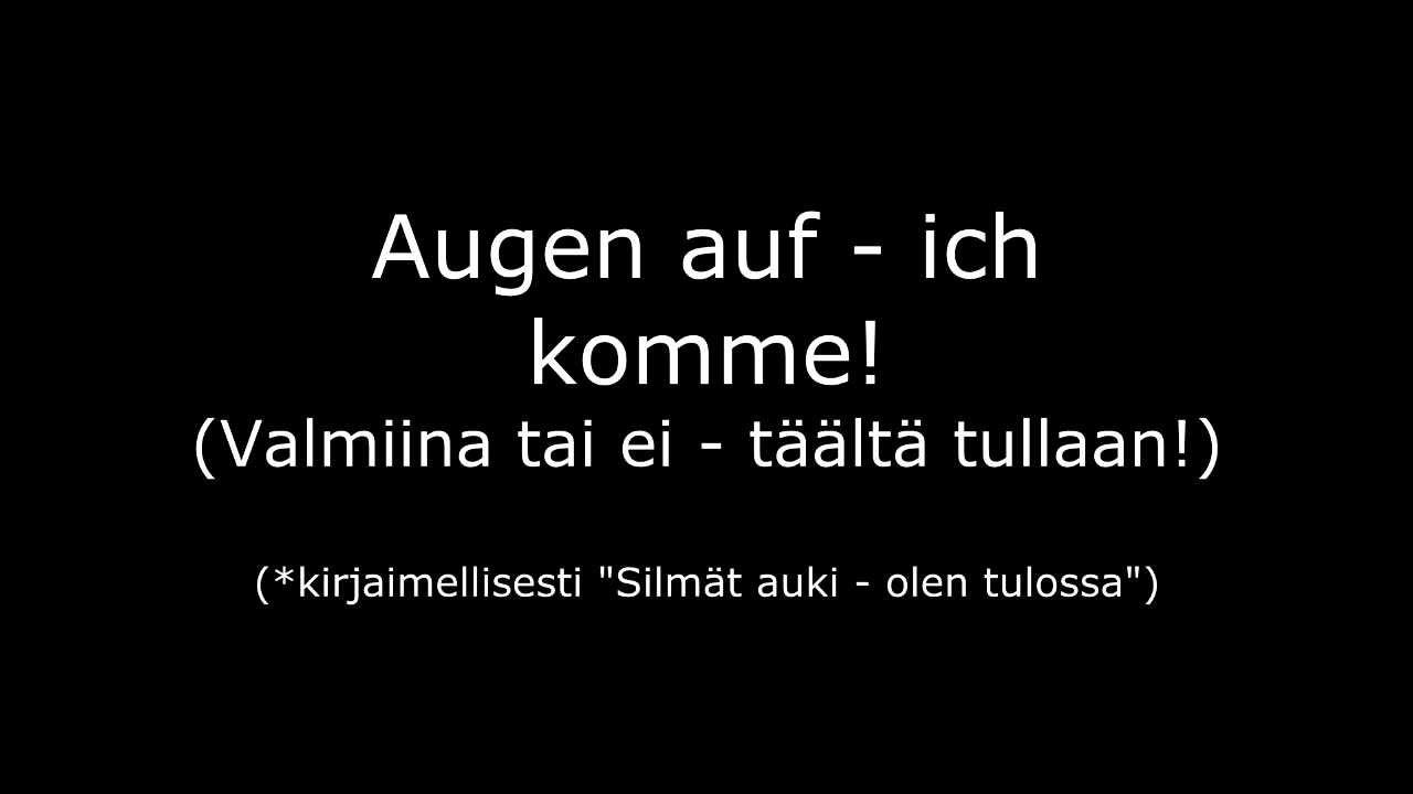 Oomph! - Augen Auf! Lyrics | MetroLyrics