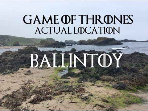 Game of Thrones location Ireland- Ballintoy