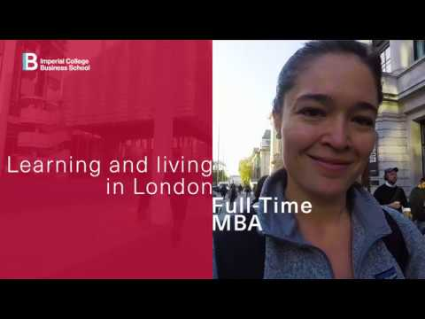 Learning And Living In London On The Imperial Full-Time MBA