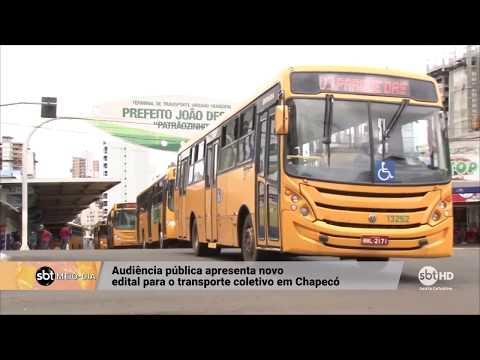 Audiência pública apresenta novo edital para o transporte coletivo em Chapecó
