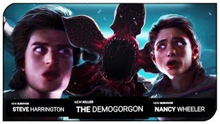 "Dead By Daylight - ""Stranger Things Chapter Trailer"" - Nancy Wheeler, Steve Harrington & Demogorgon"
