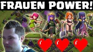 [facecam] FRAUEN POWER! || CLASH OF CLANS || Let's Play CoC [Deutsch/German HD]