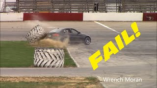 Guy Wrecks His New BMW M3 Drifting!