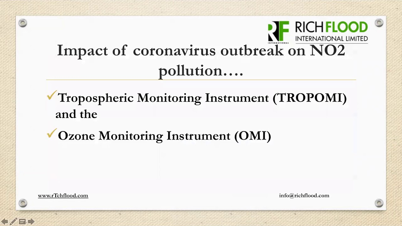 Environmental Benefits of Covid-19 (Richflood Environmental Webinar Series)
