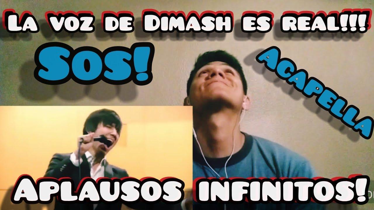 Reacting to Dimash singing acappella/Reaccionando a Dimash cantando acapella