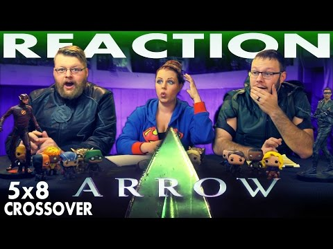 "Arrow 5x8 REACTION!! ""Invasion!"" CW CROSSOVER"