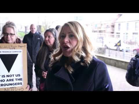 Pauline McNeill Castlemilk Jobcentre 27 Jan 2017