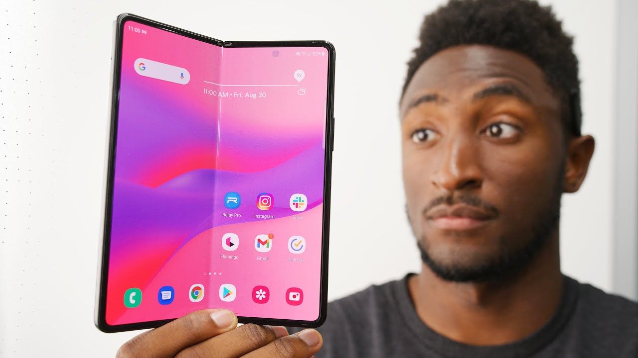 Download Samsung Z Fold 3 Review: Let's Talk Ambition!
