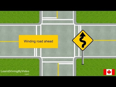 [learndrivingbyvideo.com] Warning Signs ALL In Canada