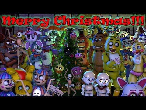 Freddy Fazbear and Friends Sing: We Wish You a Merry Christmas Redux