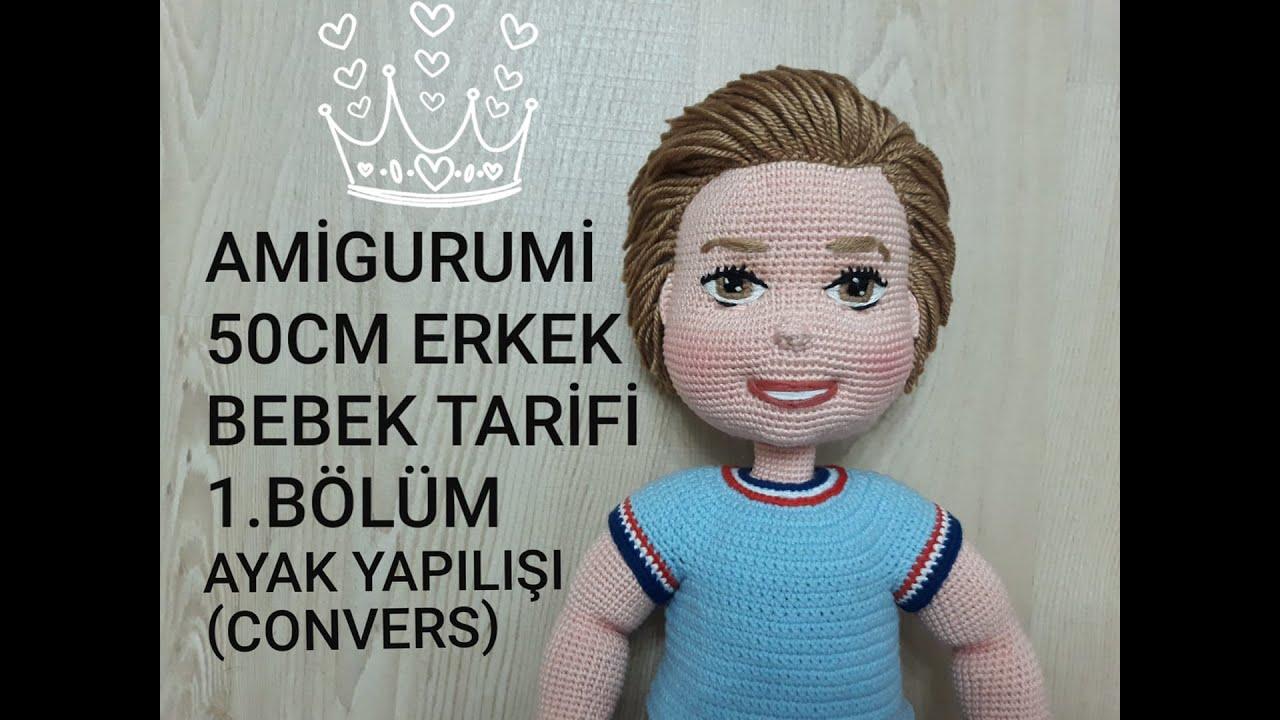Amigurumi Büyük Safiş Bebek Yapılışı-Amigurumi Free Pattern Doll ... | 720x1280
