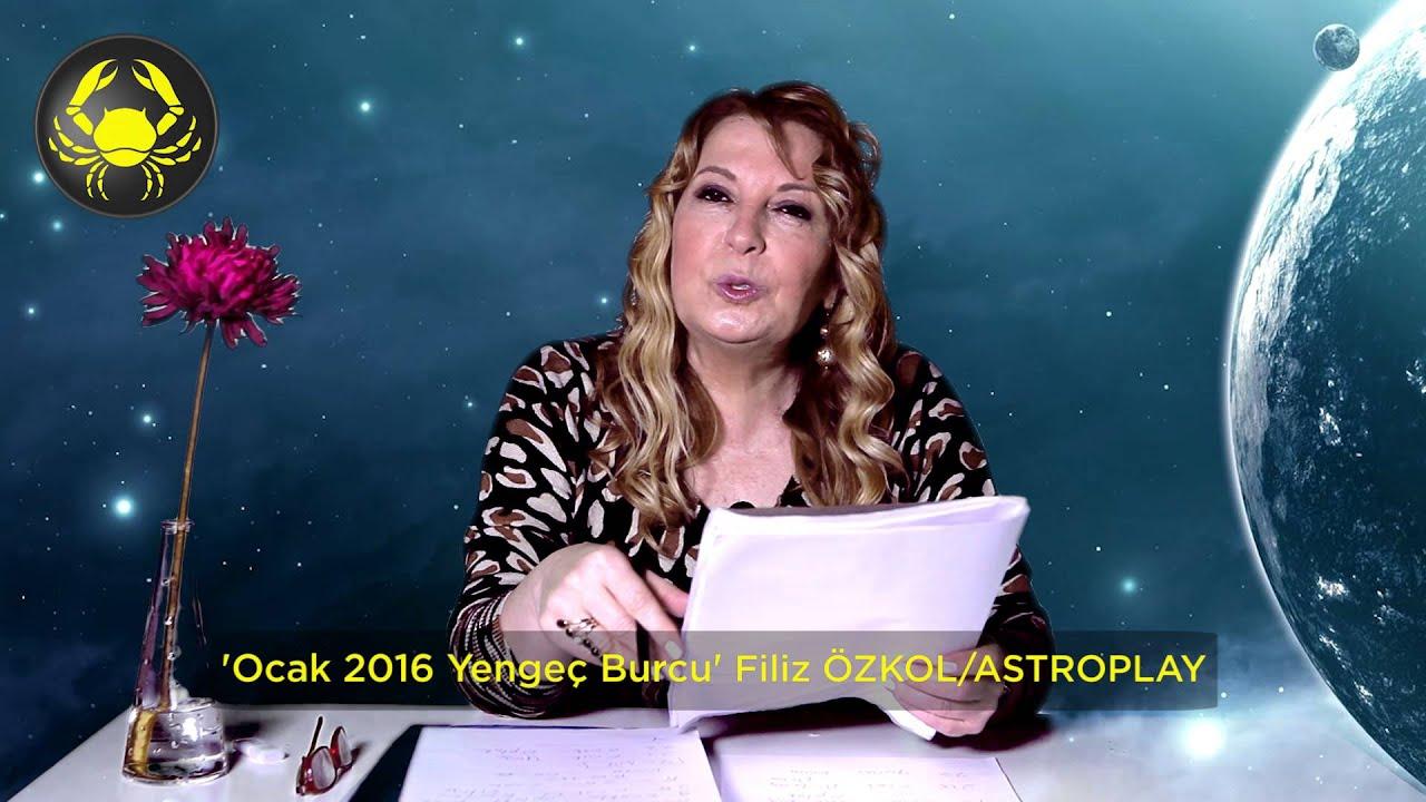 YENGEÇ Burcu Ocak 2016 Filiz Özkol - YouTube  Yengec