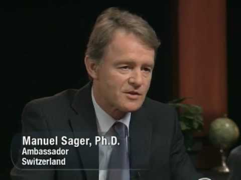 "Ambassador Manuel Sager on PBS series ""This is America and the World"""