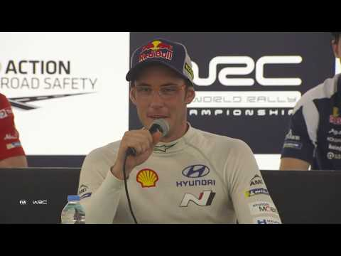 WRC - Rally Turkey 2018: Pre-Event Press Conference