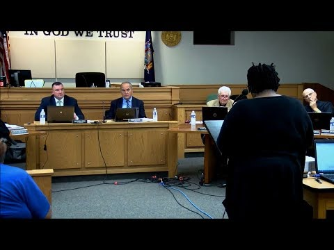 Public Speaks on Police Accountability - Geneva, NY City Council Meeting 10-4-`17