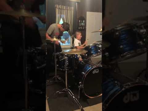 Amazing drum duet