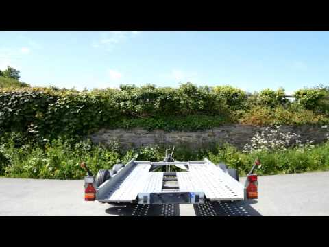Jb Trailer Hire Ifor Williams Car Transporter Trailer Ct115 Youtube