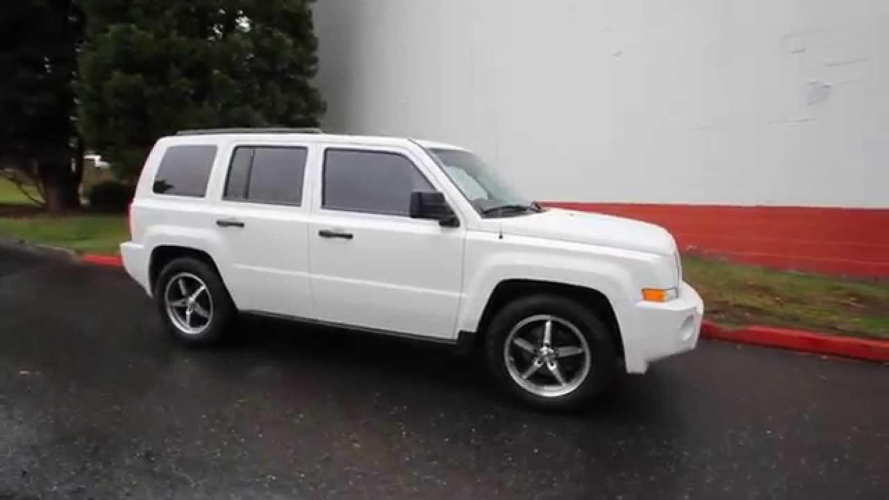 2009 jeep patriot sport white 9d219660 redmond. Black Bedroom Furniture Sets. Home Design Ideas