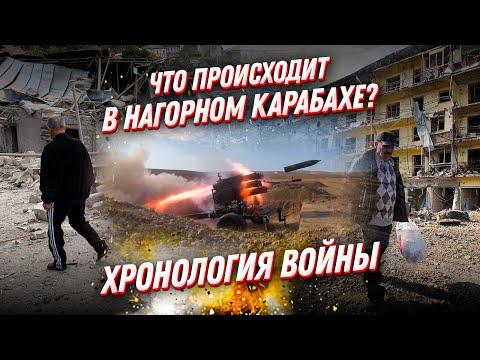 Что было в Нагорном Карабахе в 2020? Хроника войны Армении с Азербайджаном
