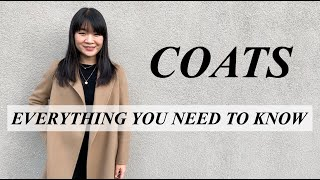 COAT BUYING GUIDE: EVERYTHING YOU NEED TO KNOW