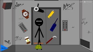 Stickman escape lift Обзор