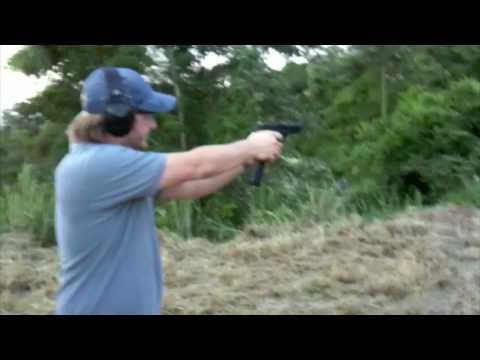 fully automatic glock 17 unloading a 32 round magazine youtube