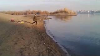 Октябрь рыбалка на реке Обь