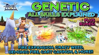 GENETIC SKILLS DEMO + EXPLANATION | Ragnarok Mobile Eternal Love