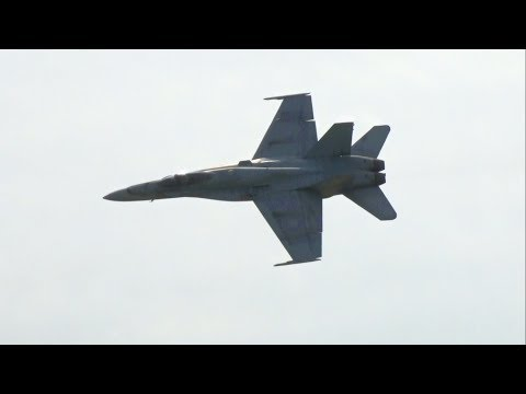 2018 Joint Base McGuire-Dix-Lakehurst Open House & Airshow - CF-18 Hornet Demonstration