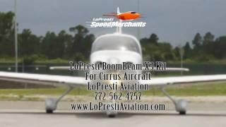 LoPresti Cirrus X3 BoomBeam Landing Light Installation