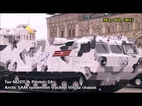 Russia's Victory Day Parade 2017: Best Russian Weaponry on Show in Red Square Parade - Армия-2017