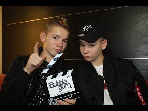 Marcus & Martinus - Interview bei Bubble Gum TV in Berlin