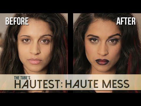 Haute Mess: Zee's Purple Ombre Makeup Tutorial | The Tube's Hautest // I love makeup.