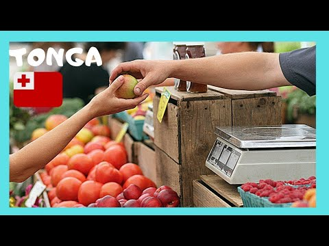 TONGA, the graphic handicrafts' market of NUKU'ALOFA