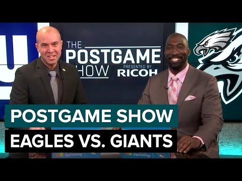 Philadelphia Eagles vs. New York Giants Postgame Show | 2018 Week 12