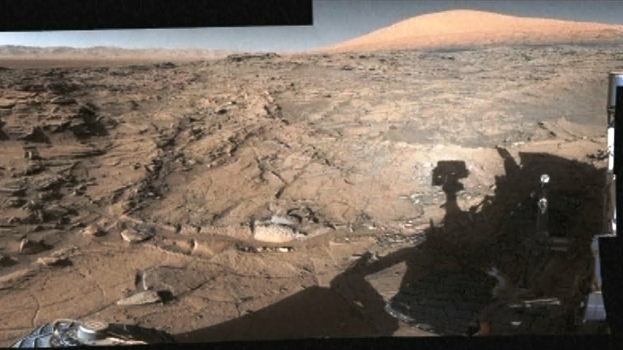 360度全景圖像 火星火山高原壯觀呈現【大千世界】NASA|噴氣推進實驗室 Jet Propulsion Laboratory|好奇號火星探測車 - YouTube