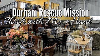 💖thrift Shopping With Me & Home Decor Haul-durham Rescue Mission-project Thrift 52-week 8