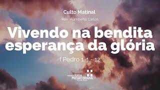 Culto Matinal - 09 de maio de 2021