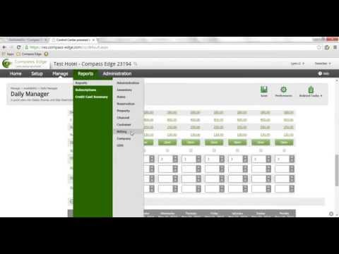 Compass Edge - Central Reservation System Online Tutorial (English Version)