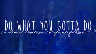 "Do what you gotta do - Dove Cameron, Cheyenne Jackson (De ""Descendants 3"") (PT/BR)"