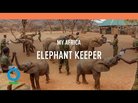 MY AFRICA: Elephant Keeper