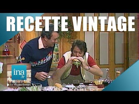 recette-:-le-hamburger-vintage-de-michel-oliver- -archive-ina