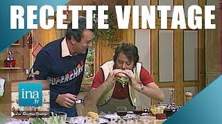 Recette : Le hamburger vintage de Michel Oliver | Archive INA
