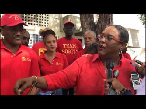 IN HER WORDS: Mia Mottley and BLP tour The City