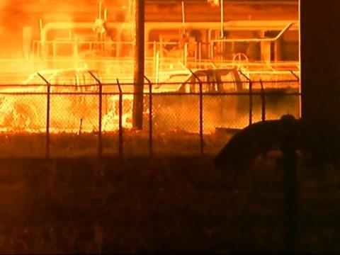 Pipeline Fire in Louisiana, One Worker Missing